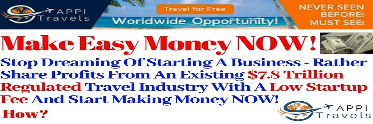 Click on slide to visit page - Make Easy Money In Appitravels